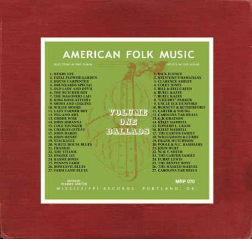 american folk music American folk music originated in the late 18th, 19th, and early 20th centuries as the result of the interaction of people from different traditions, from necessity.